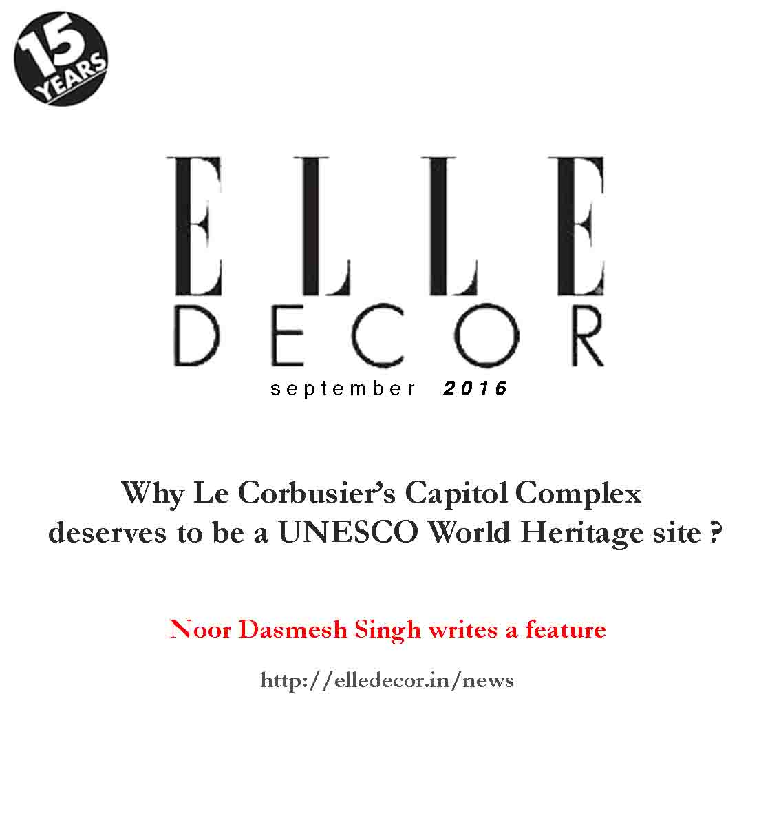 Elle Decor,Capitol complex,architecture,interior design,unesco,wallpaper magazine,noor architects